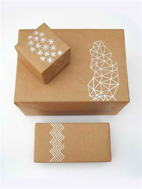 craft paper wrapping diy brown paper wrapping ideas crafts and treasures