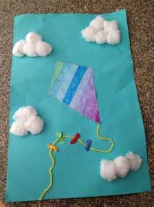 crafts for with autism a kite project that i made with the autistic children at