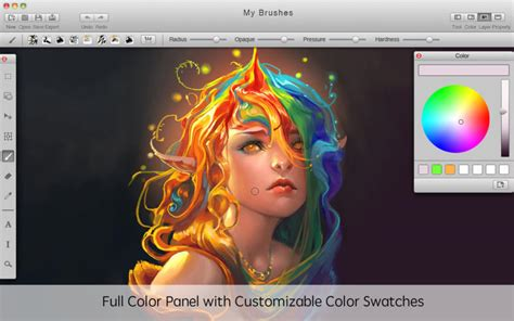 paint tool sai free mac mybrushes paint draw sketch on the mac app store