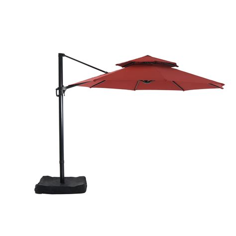 patio umbrella lowes shop garden treasures patio umbrella at lowes