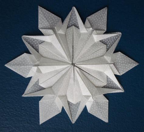 origami snowflake origami snowflake winter