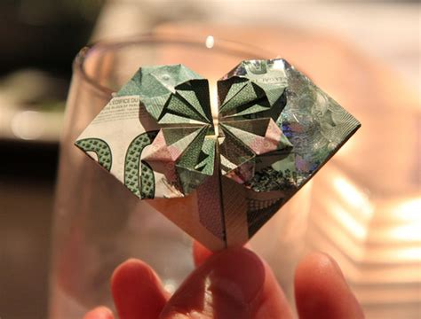 canadian money origami canadian 20 banknote folded into you can give the