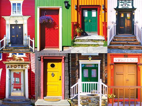 colorful doors colorful doors jigsaw puzzle puzzlewarehouse
