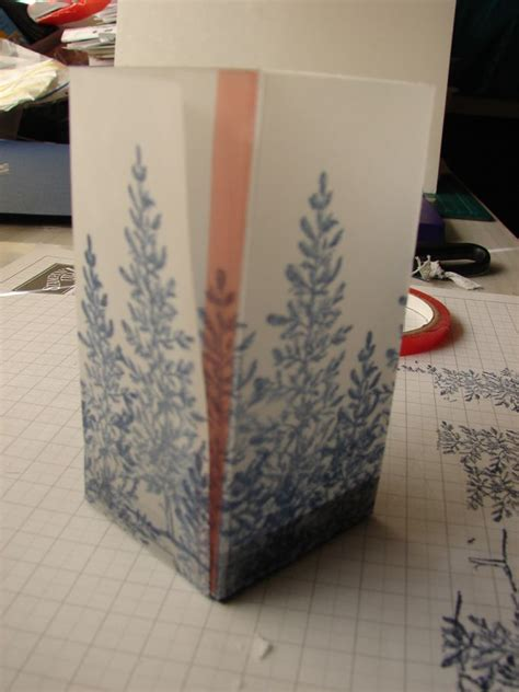 vellum paper craft ideas vellum luminaries tutorial ink and tutorials