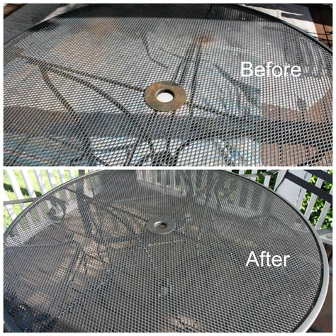 repainting outdoor metal furniture 12 outdoor furniture makeovers easier than you think