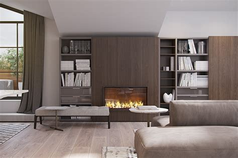 modern fireplace 4 modern homes with amazing fireplaces and creative lighting