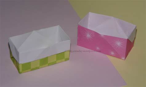 origami easy box baskets and boxes an origami a day page 2
