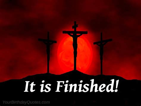 is finished easter friday jesus scriptures it is finished