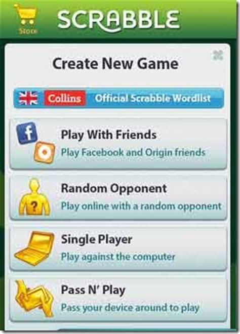 scrabble options free scrabble app for iphone ipod touch android