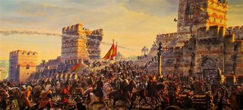 ottomans conquered constantinople ottomans conquered constantinople painting of the
