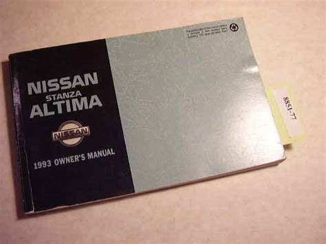 2010 Nissan Altima Owners Manual by Nissan Altima 08 Owners Manual Faxupload