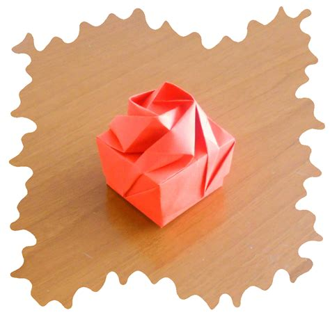 how to make an origami flower box origami box origami et pliages