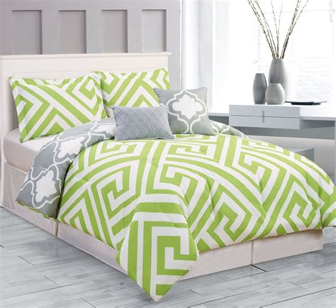 lime green and brown bedding sets total fab lime green and grey bedding sets