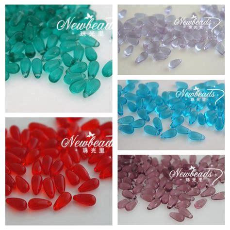 drop wholesale tear drop 5x10mm glass wholesale jewelry