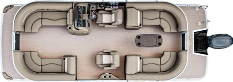 pontoon floor plans 2017 sx22 premium pontoon boats by bennington