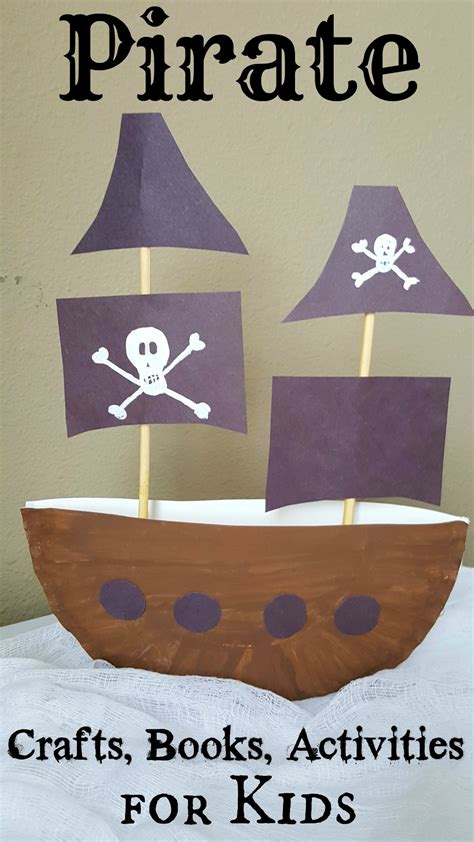 ship craft for pirate ship paper plate craft 3d project for