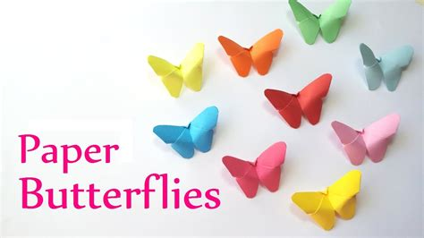 paper butterflies craft diy crafts paper butterflies easy innova crafts