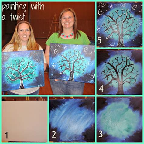 painting with a twist paint used painting with a twist almost soul
