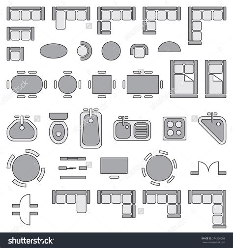 architectural floor plan symbols free architectural drawing symbols