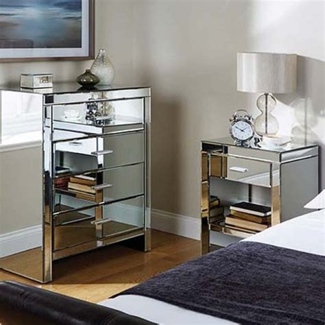 cheap mirrored bedroom furniture mirrored furniture cheap white furniture of master bed