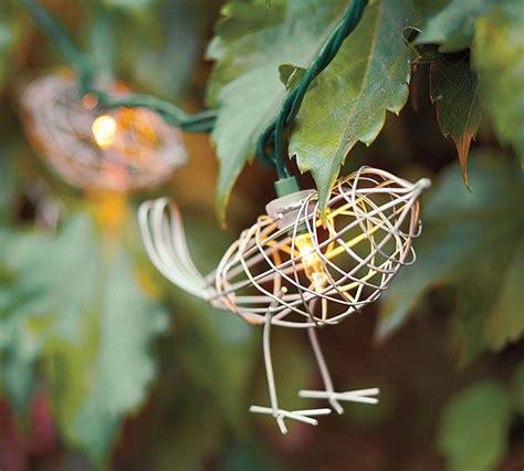 bird lights wire bird string lights for the outdoors