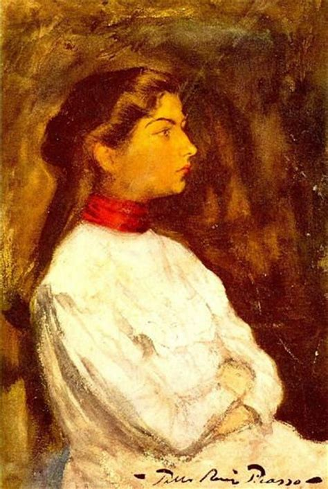 picasso paintings year pablo picasso portrait de lola2 1899 year