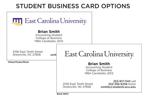 how to make a student business card up g design sles