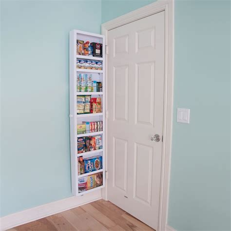this back of the door cabinet solves small apartment