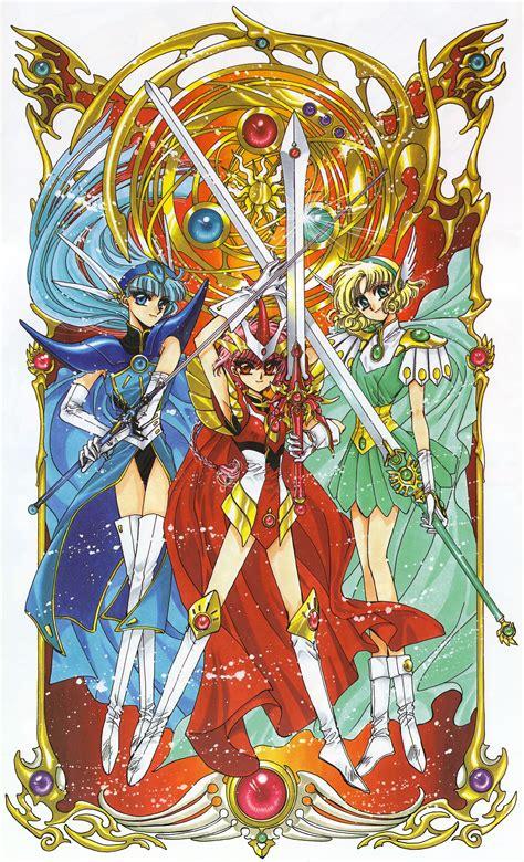 magic rayearth magic rayearth magic knights 14 minitokyo