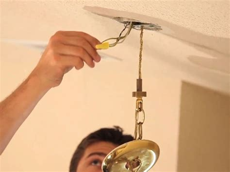 how to install chandelier how to install a chandelier snapguide