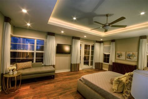 lighting for bedrooms ceiling indirect lighting around the tray ceiling
