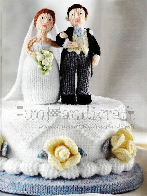knitted wedding cake 17 best images about and groom on