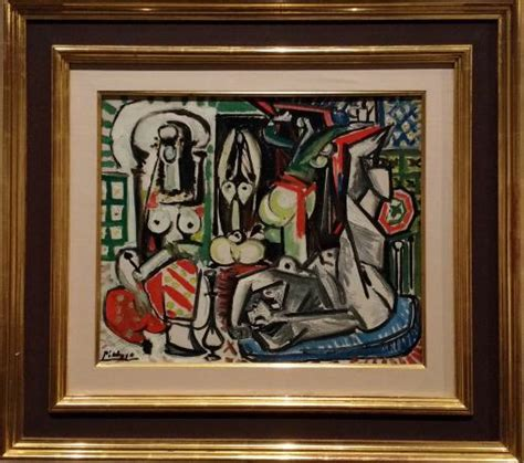 picasso paintings at lacma pablo picasso the of algiers 1955 lacma