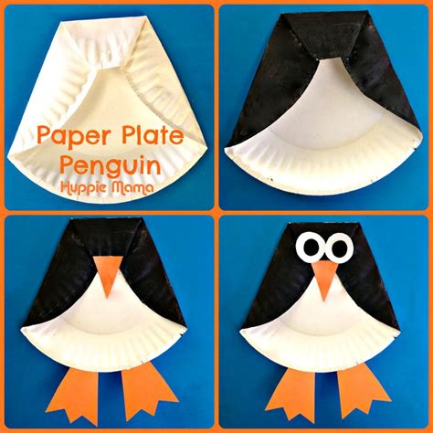 penguin paper plate craft penguin crafts up crafts