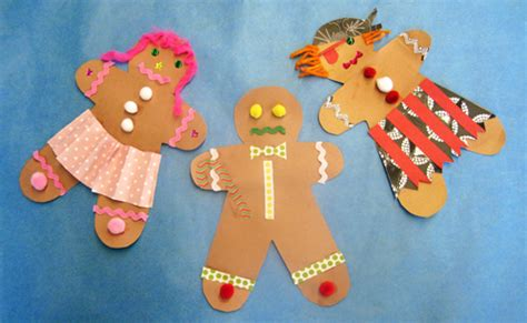 gingerbread crafts for activities for