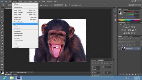 on photoshop how to crop single layer in photoshop cs6
