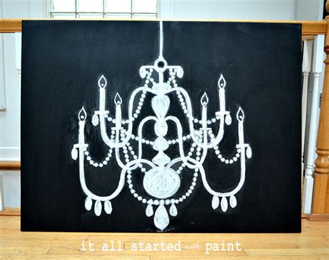chalk paint on canvas in my dreams it all started with paint