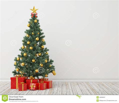 How To Read Floor Plans christmas tree with presents in the vintage room