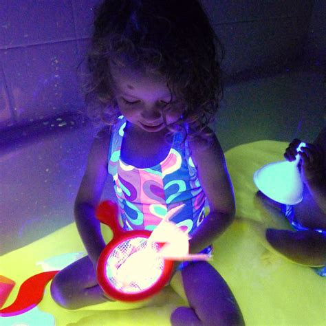 glow in the paint kid safe safe and edible glow water for baths and play