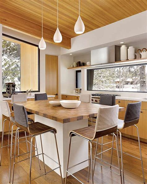 dining table kitchen island kitchen island table combination a practical and functional homesfeed