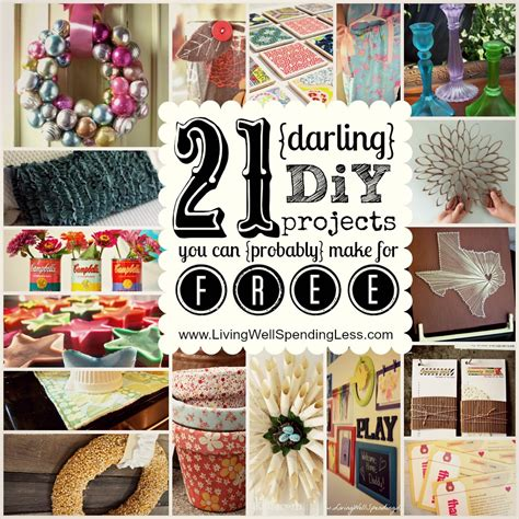 diy projects craft ideas 21 diy projects you can make for free
