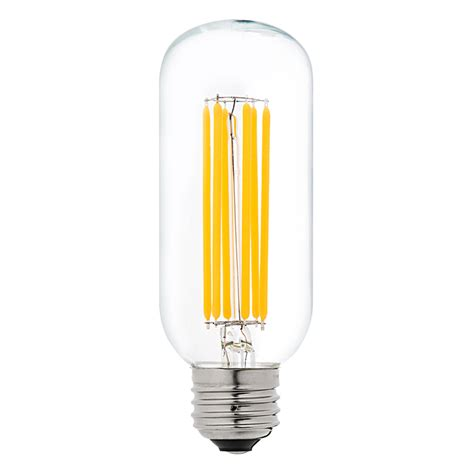 led vintage light bulbs t14 led filament bulb 75 watt equivalent vintage light