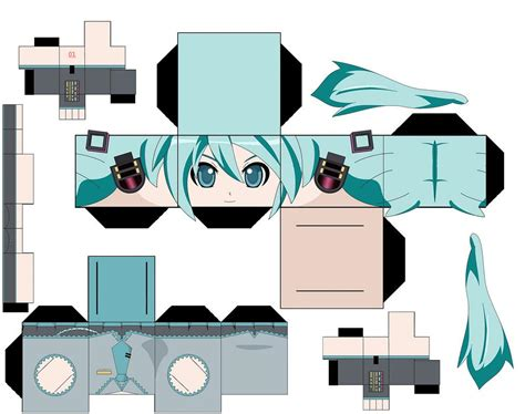 anime paper craft my papercraft templates anime more come to in