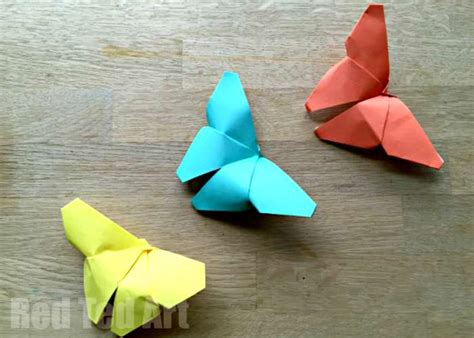 origami simple butterfly 20 and easy origami for easy peasy and