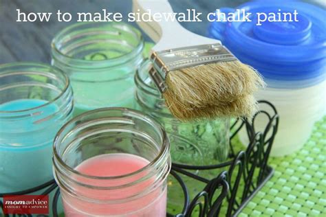 diy sidewalk chalk paint recipe sidewalk chalk paint recipe momadvice