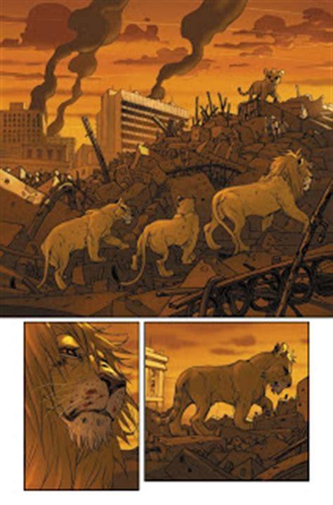 pride of baghdad review pride of baghdad multiversity comics
