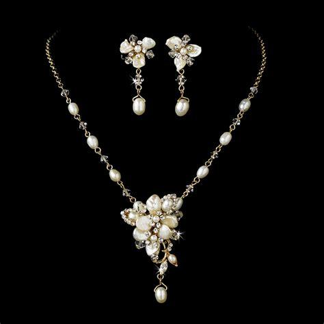 how to make wedding jewelry gold pearl wedding jewelry trend 2011