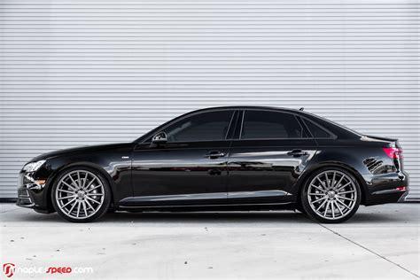 Audi A4 Rims 2017 audi a4 hunkers on 20 quot custom wheels carscoops