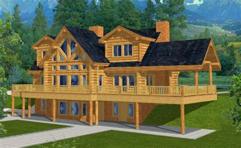 House Plans With Walk Out Basements mountain home plans with walkout basement