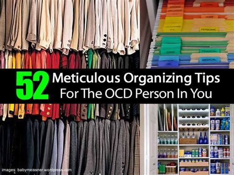 organizing tips organization tips for the ocd person in you diy cozy home